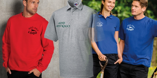 Universal Uniform - work, school & leisure wear – no minimum order!